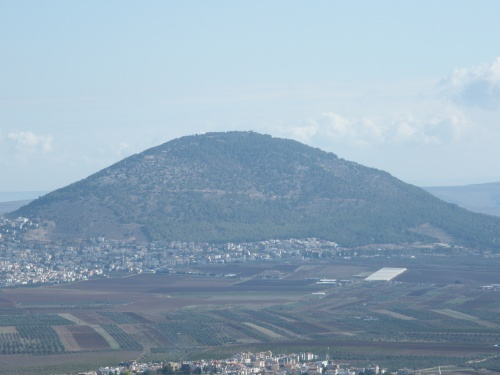 Mount Tabor / mount of the Transfiguration