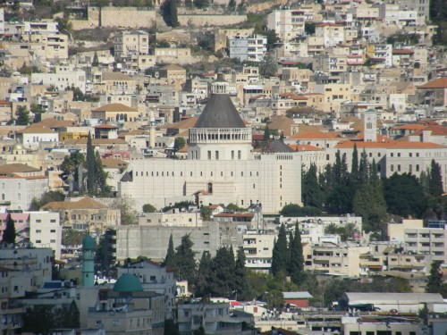 Basilica of the Annunciation from the Precipice