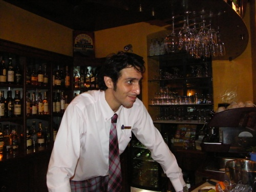 Lavi, our freindly barman