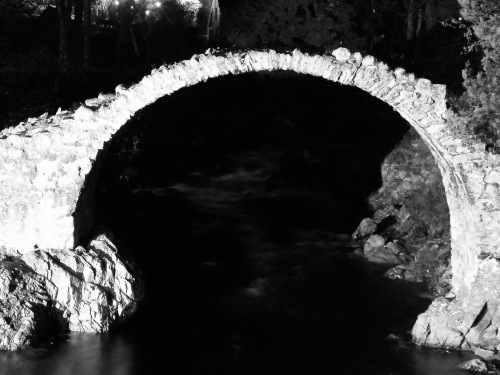 Ancient Bridge at Carrbridge