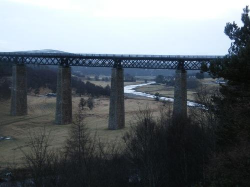 Viaduct over Findhorn River