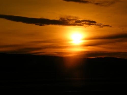 sunset from Blackburn