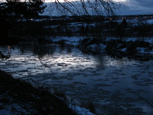 River Dee at Dawn
